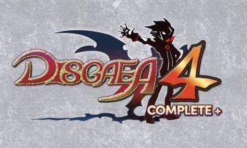 image logo disgaea 4 complete