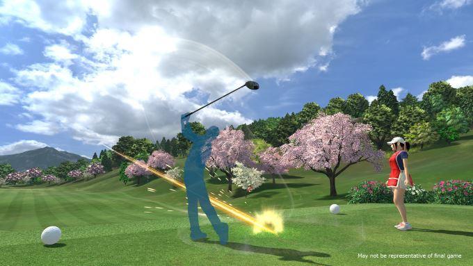 image gameplay everybody's golf vr