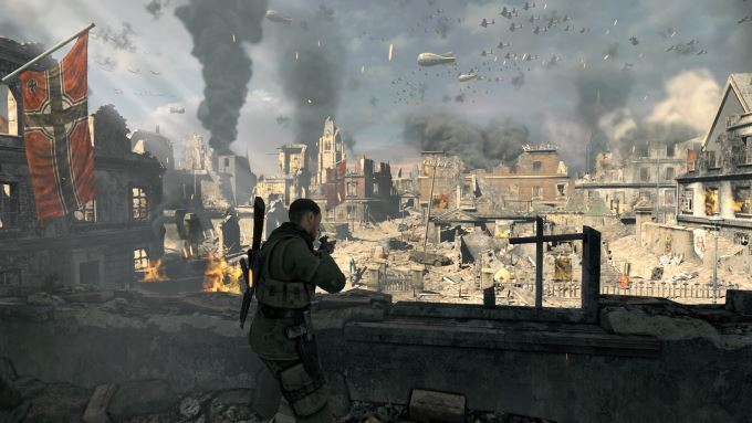 image gameplay sniper elite v2 remastered