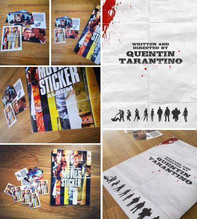 image tarantino movies stickers