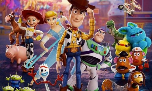 image gros plan affiche toy story 4