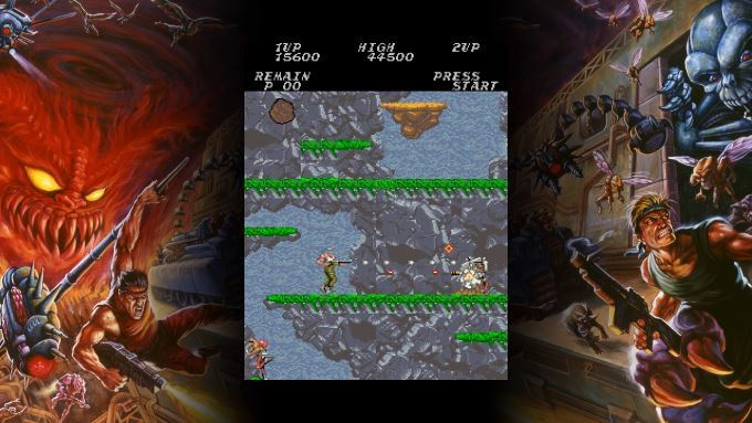 image arcade contra