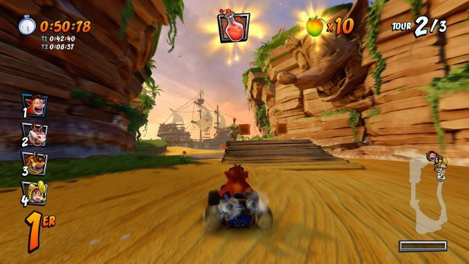 image gameplay crash team racing nitro fueled