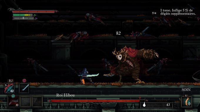 image gameplay death's gambit