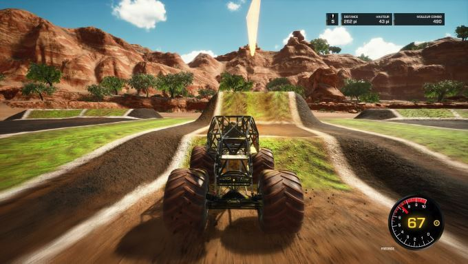 image gameplay monster jam steel titans