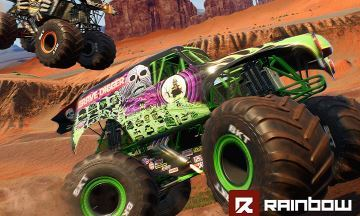 image ps4 monster jam steel titans