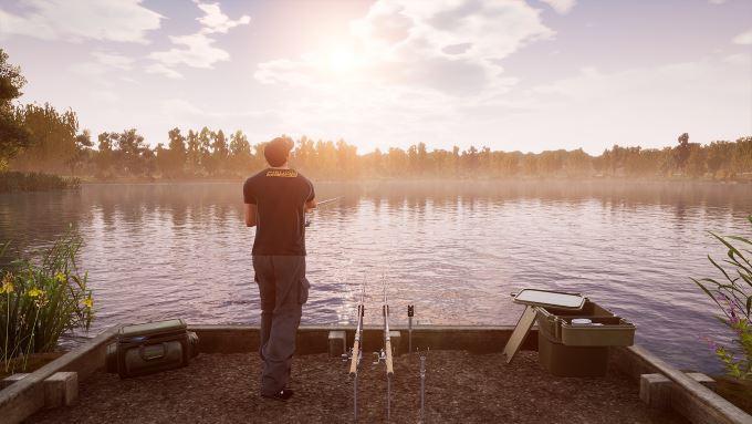 image test fishing sim world