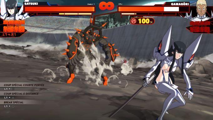 image gameplay kill la kill if