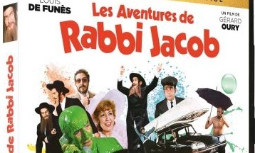 image article blu ray 4k les aventures de rabbi jacob