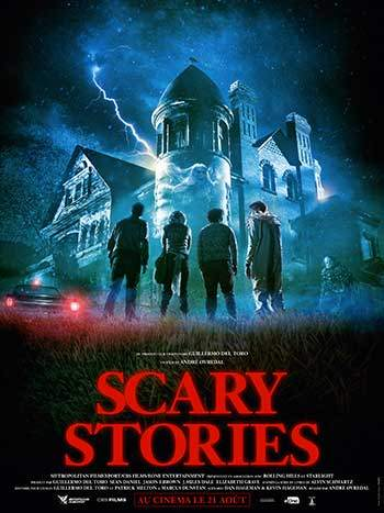 image affiche film scary stories produit par guillermo del toro