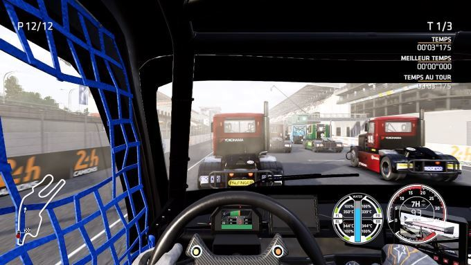 image gameplay truck racing