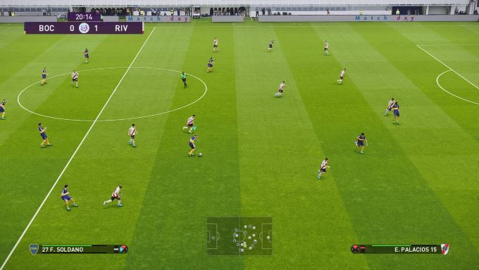 image gameplay pes 2020