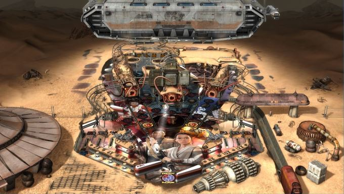 image gammeplay star wars pinball