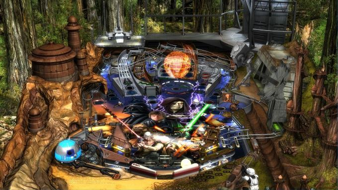 image test star wars pinball