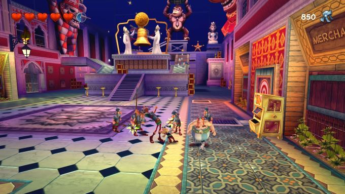 image gameplay asterix et obelix xxl 2