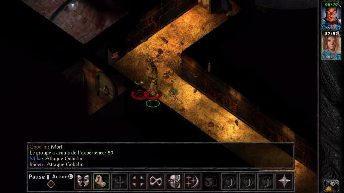 image gameplay baldur's gate enhanced edition