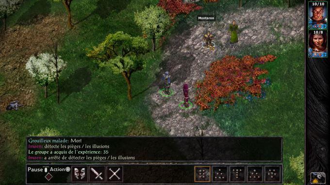 image test baldur's gate enhanced edition