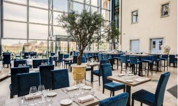 image restaurant château de saint priest jour alexandre moulard