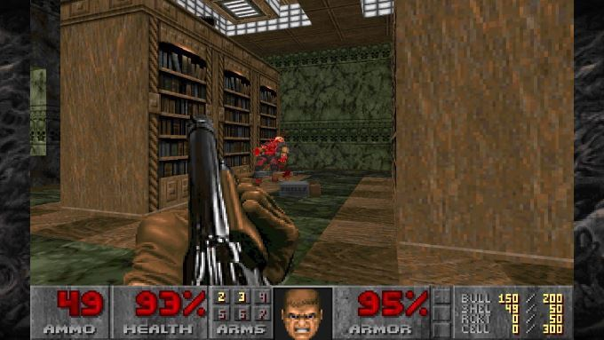 image gameplay doom 2