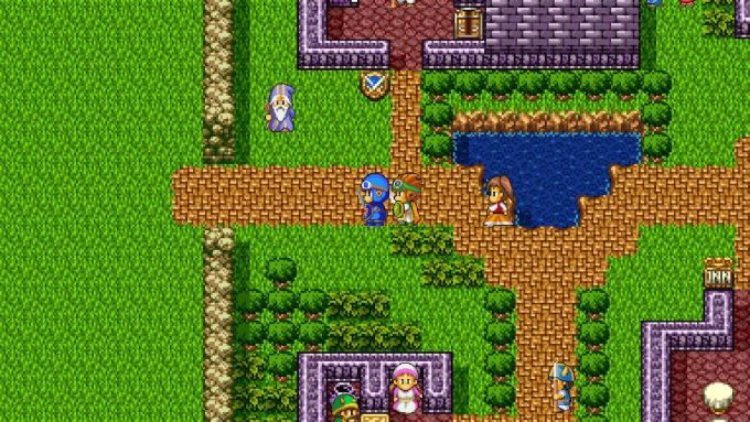image gameplay dragon quest 2