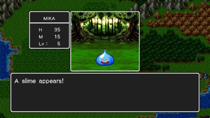 image gluant dragon quest
