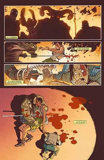 image planche 3 comics extremity de daniel warren johnson éditions delcourt