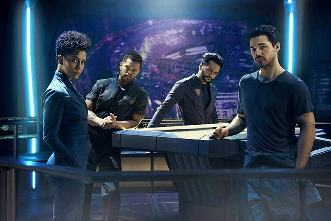 image cast the expanse saison 3