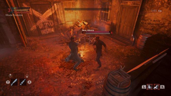 image gameplay vampyr