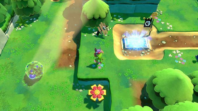 image gameplay yooka laylee impossible lair