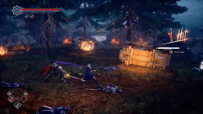 image gameplay aeternoblade 2