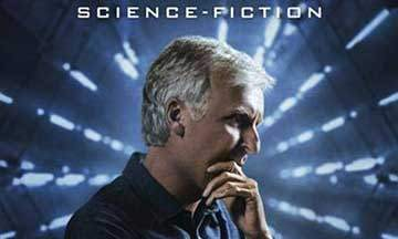 gros plan couverture james cameron histoire de la science-fiction éditions mana books