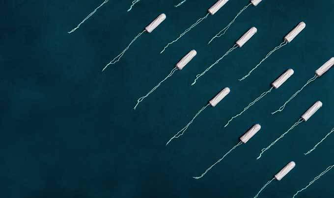 image tampons hygiéniques