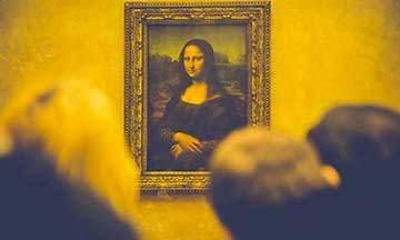 image la joconde leonard de vinci au musée du louvre exposition