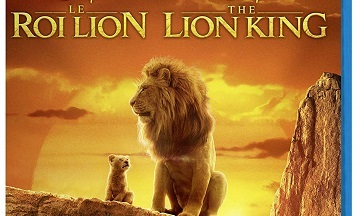 image article blu ray le roi lion