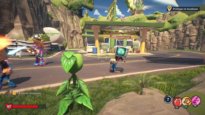 image gameplay plants vs zombies neighborville