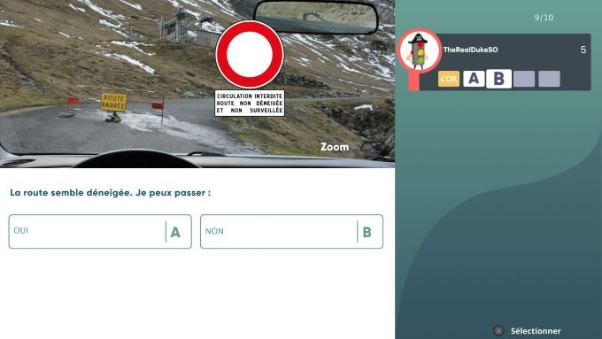 image test reussir code de la route