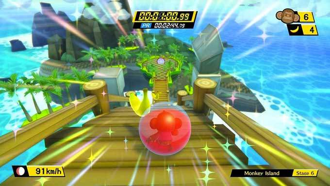 image gameplay super monkey ball banana blitz hd