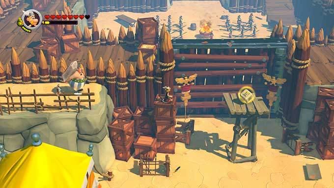 image gameplay asterix et obelix xxl 3