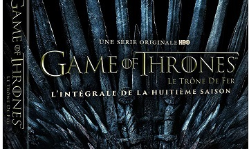 image article blu ray saison 8 game of thrones