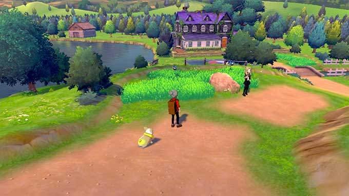 image gameplay pokemon epee