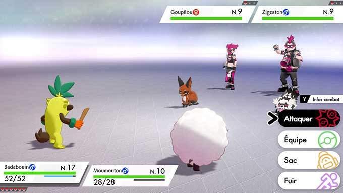 image jeu pokemon epee