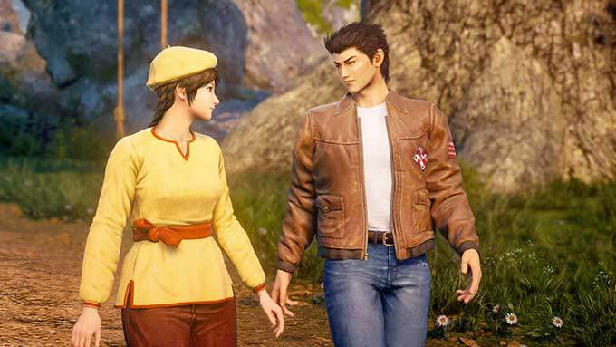 image test shenmue 3