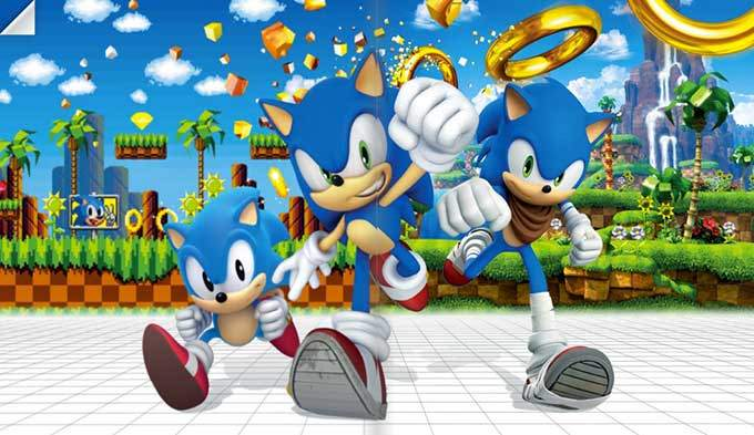 image mana books sonic the hedgehog
