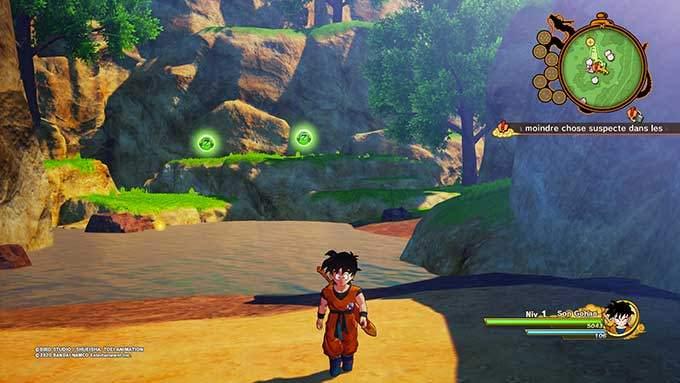 image gameplay dragon ball z kakarot