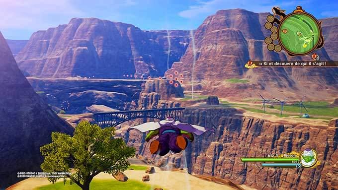 image jeu dragon ball z kakarot