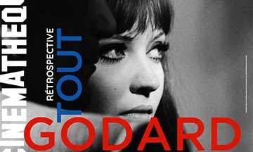 affiche rétrospective godard recadrée cinémathèque française