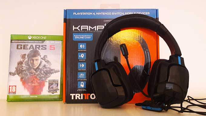 test casque audio kama plus tritton