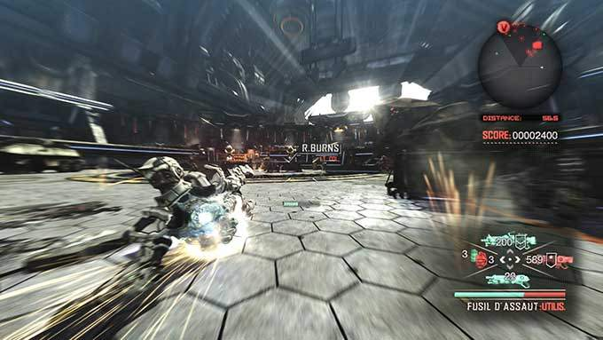 image gameplay bayonetta vanquish