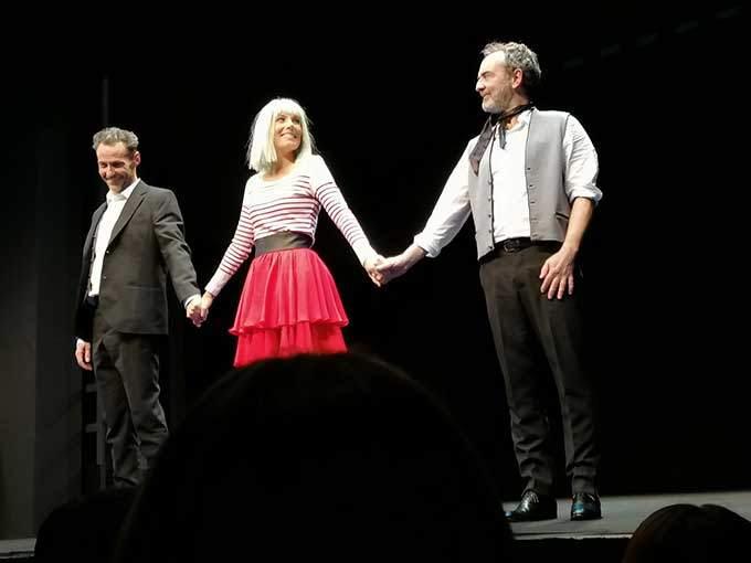 julien boisselier mélanie page bruno solo dans dix ans après théâtre