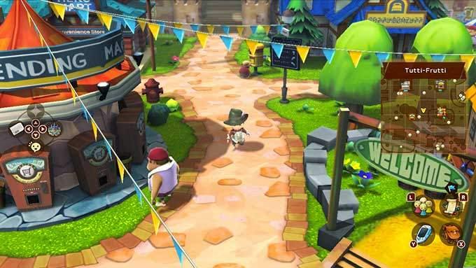 image gameplay snack world